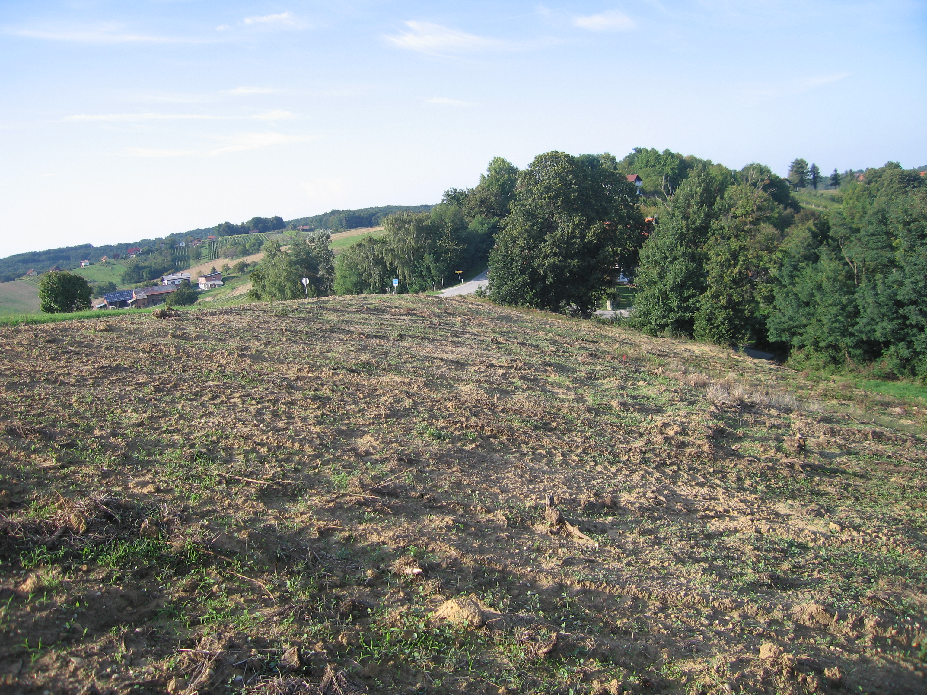A building plot with open stunning views for sale